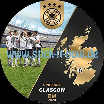 """Ferrero Team Sticker EM 2020 - """"Spielort"""" Nr. 11 (Glasgow)"""