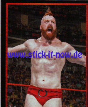 """WWE """"The Ultimate Collection"""" Sticker (2017) - Nr. 163"""