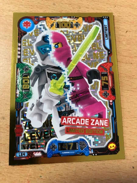 "Lego Ninjago Trading Cards - SERIE 5 ""Next Level"" (2020) - Nr. LE4"