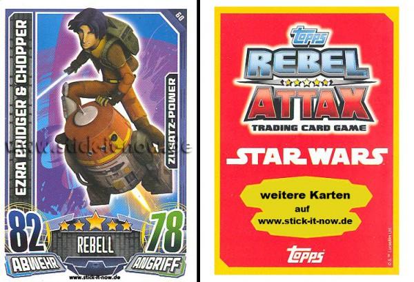 Rebel Attax - Serie 1 (2015) - EZRA BRIDGER & CHOPPER - Nr. 60