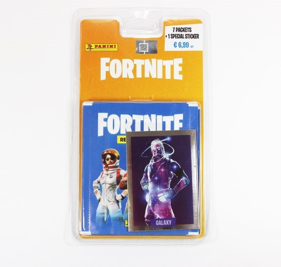 "Fortnite ""Sticker"" (2019) - Blister (7 Tüten + 1 Glitzerbild)"