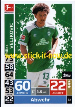 Topps Match Attax Bundesliga 18/19 - Nr. 52