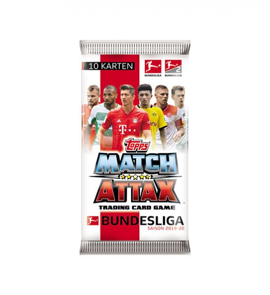 Topps Match Attax Bundesliga 2019/20 - Booster ( 10 Karten )