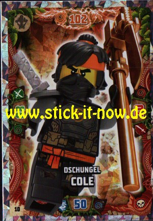 Lego Ninjago Trading Cards - SERIE 6 (2021) - Nr. 10 (Insel-Holofolie)