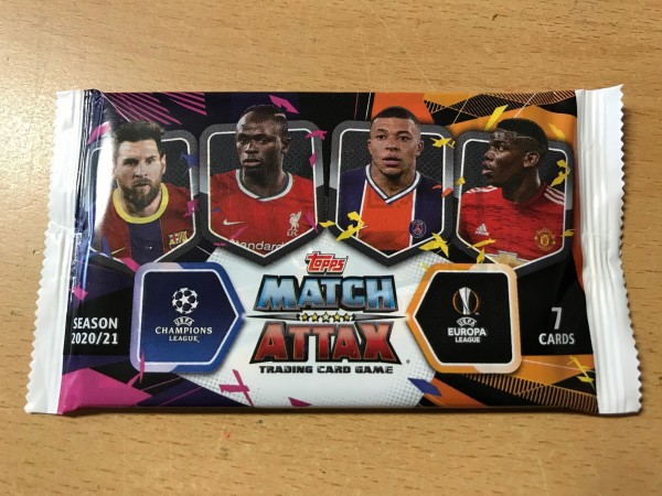 Match Attax Champions League 2020/21 - Booster ( 7 Karten )