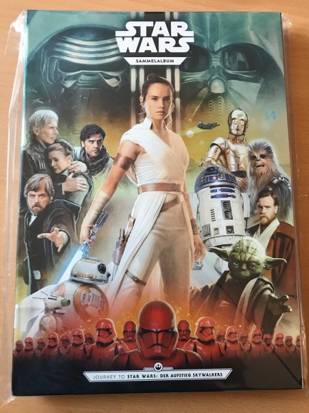 """Kaufland - Star Wars """"Der Aufstieg Skywalkers"""" (2019) - Sammelalbum"""