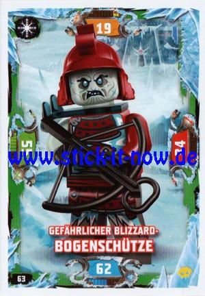 "Lego Ninjago Trading Cards - SERIE 5 ""Next Level"" (2020) - Nr. 63"