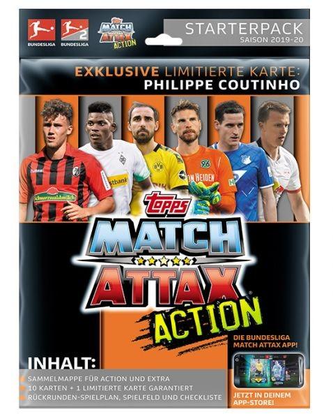 "Topps Match Attax Bundesliga 2019/20 ""Action"" - Starter-Set"