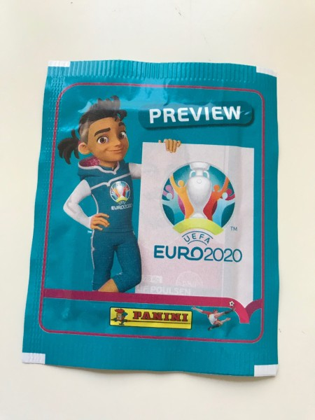 "Panini EM 2020 ""Preview-Collection"" - Stickertüte (5 Sticker)"