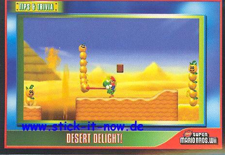 Super Mario Bros.Wii - Sticker - Nr. 161