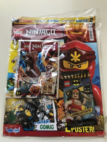Lego Ninjago Magazin Nr. 54 (mit Lego Figur und Lego Batman Booster)