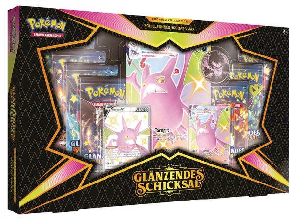 """Pokémon Glänzendes Schicksal - Premium-Kollektion """"Iksbat Vmax"""""""