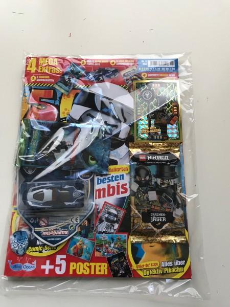 5! Five! Magazin Nr. 5/2019 (mit Ninjago & Dragons Booster, Auto + LE 21 von Ninjago)