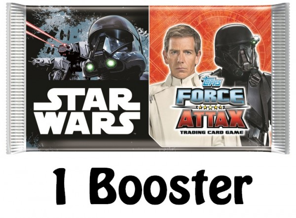 Topps Star Wars FORCE ATTAX UNIVERSE (2017) - 1 Booster