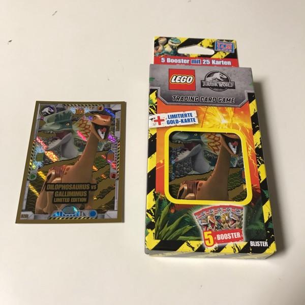 "LEGO ""Jurassic World"" Trading Cards (2021) - Blister 3 (LE 16)"