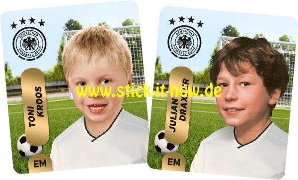 "Ferrero Team Sticker EM 2020 (2021) - ""Kids"" Nr. 1 (Kroos/Draxler)"