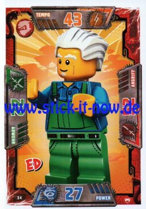 Lego Ninjago Trading Cards - SERIE 2 (2017) - Nr. 34