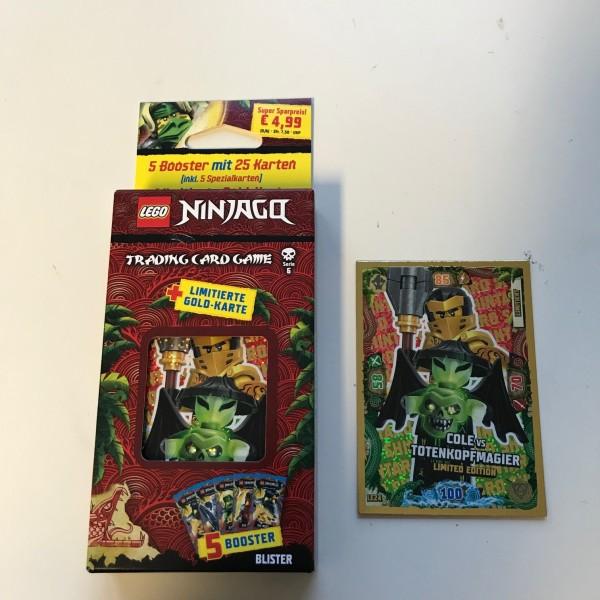 Lego Ninjago Trading Cards - SERIE 6 (2021) - Blister 1 ( LE 24 )