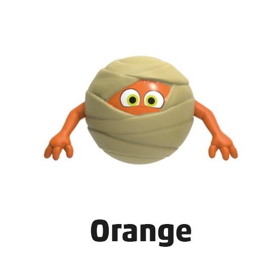 """Penny Monster-Sammelfiguren - Nr. 9 """"Orange"""""""