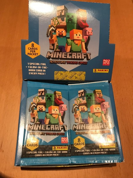 Minecraft Trading Cards (2021) - Display ( 18 Booster )