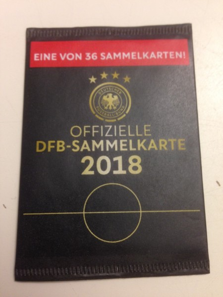Rewe WM 2018 - Sammelkarten - Tüte