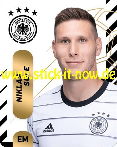 "Ferrero Team Sticker EM 2020 (2021) - ""Portrait"" Nr. 6 ( Süle )"
