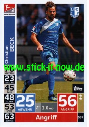 "Topps Match Attax Bundesliga 18/19 ""Action"" - Nr. 537"