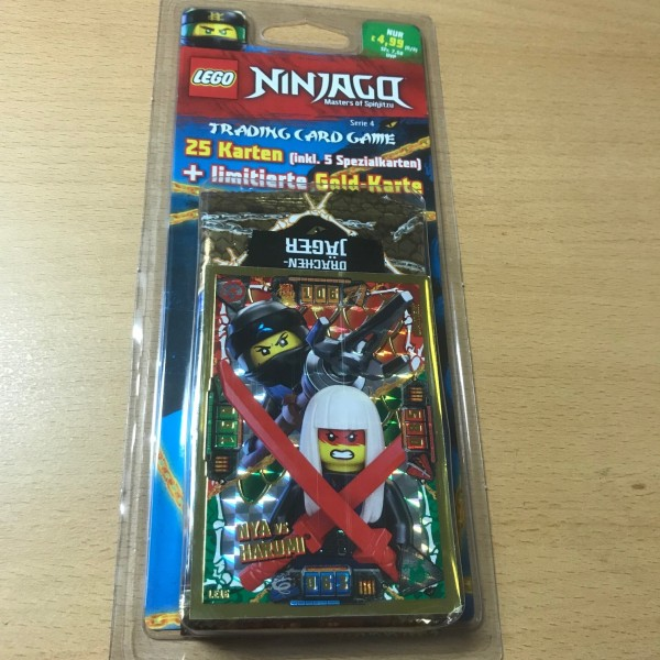 Lego Ninjago Trading Cards - SERIE 4 (2019) - Blister 4 ( LE16 )