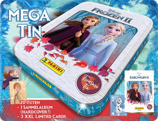 """Disney Frozen """"Die Eiskönigin 2"""" (2019) - Mega Tin ( mit Hardcoveralbum )"""
