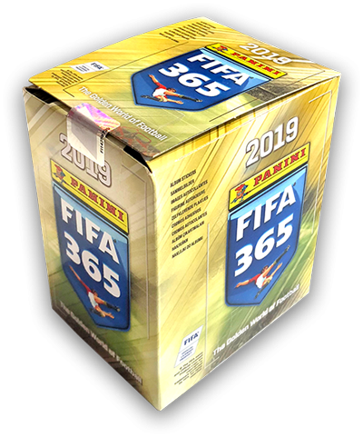 "Panini FIFA 365 ""The golden World of Football"" Sticker (2019) - Display ( 50 Tüten )"