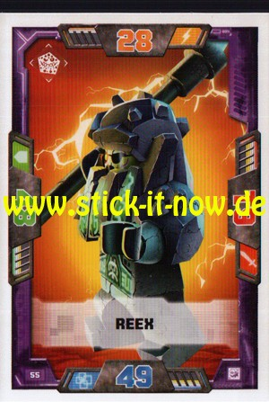 Lego Nexo Knights Trading Cards - Serie 2 (2017) - Nr. 55