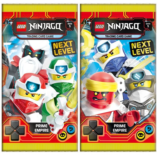 "Lego Ninjago Trading Cards - SERIE 5 ""Next Level"" (2020) - Booster"