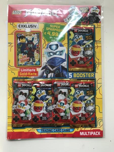 "Lego Ninjago Trading Cards - SERIE 5 ""Next Level"" (2020) - Multipack 1 (LE17)"