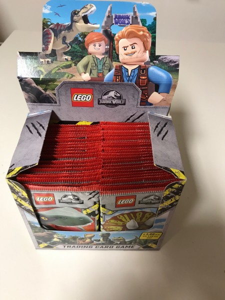 "LEGO ""Jurassic World"" Trading Cards (2021) - Display (50 Booster)"