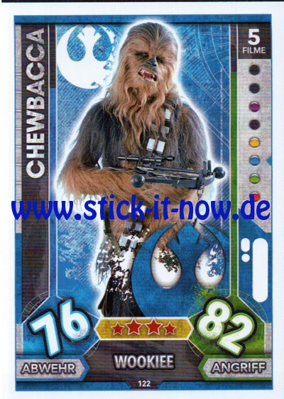 Topps Star Wars FORCE ATTAX UNIVERSE (2017) - Nr. 122