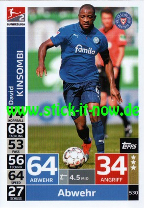 "Topps Match Attax Bundesliga 18/19 ""Action"" - Nr. 530"