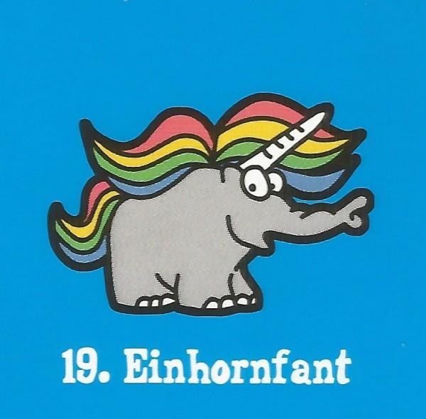 Edeka Ottifanten (2020) - Nr. 19 Einhornfant