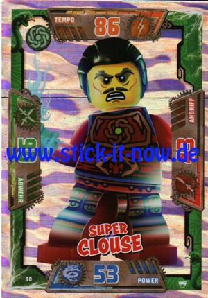 Lego Ninjago Trading Cards - SERIE 2 (2017) - Nr. 90 (GLITZER)
