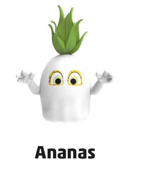 """Penny Monster-Sammelfiguren - Nr. 11 """"Ananas"""""""