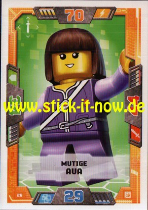 Lego Nexo Knights Trading Cards - Serie 2 (2017) - Nr. 26