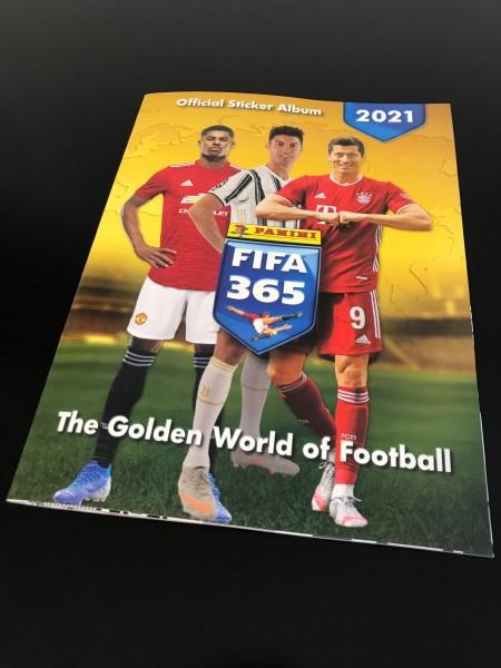 "FIFA 365 ""The Golden World of Football"" (2021) - Stickeralbum"