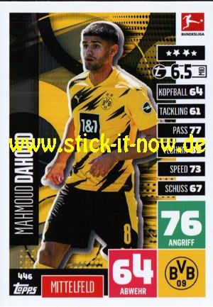 """Topps Match Attax Bundesliga 2020/21 """"Extra"""" - Nr. 446"""