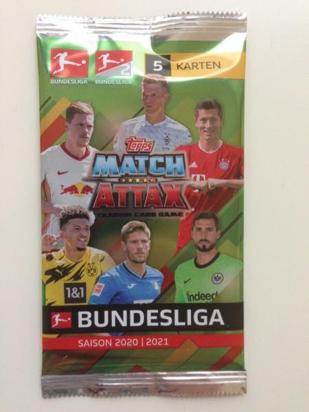 Topps Match Attax Bundesliga 2020/21 - Booster ( 5 Karten )