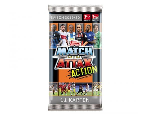 "Topps Match Attax Bundesliga 2019/20 ""Action"" - Booster ( 11 Karten )"