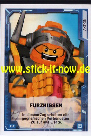 Lego Nexo Knights Trading Cards - Serie 2 (2017) - Nr. 117