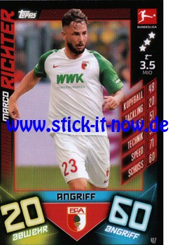"Topps Match Attax Bundesliga 2019/20 ""Action"" - Nr. 417"