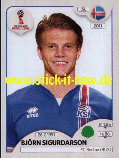 "Panini WM 2018 ""Sticker"" - Björn Sigurdarson - Island"