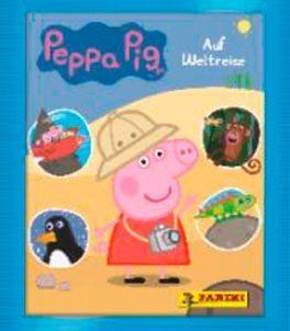 """Peppa Pig """"Auf Weltreise"""" (2019) - Stickertüte"""