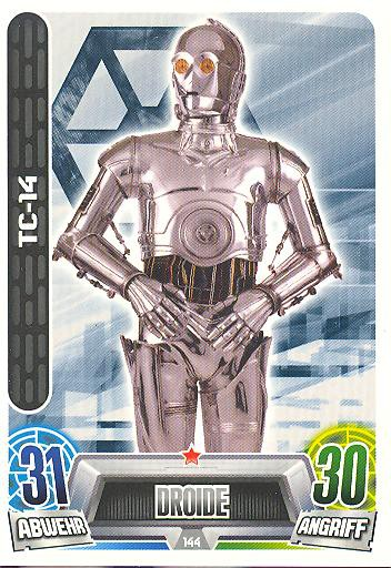 Force Attax Movie Collection - Serie 2 - TC-14 - Nr. 144