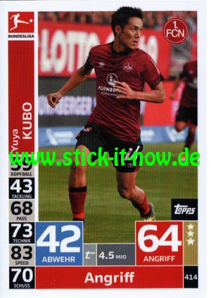 "Topps Match Attax Bundesliga 18/19 ""Action"" - Nr. 414"